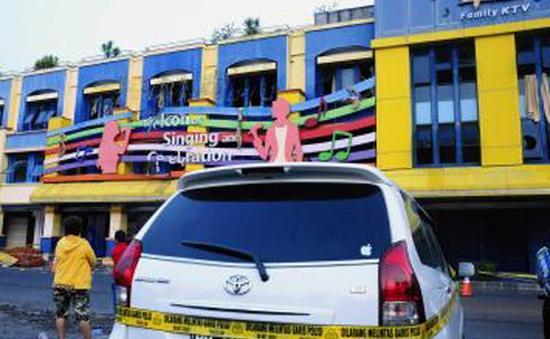 Cháy quán karaoke tại Indonesia, 12 người thiệt mạng