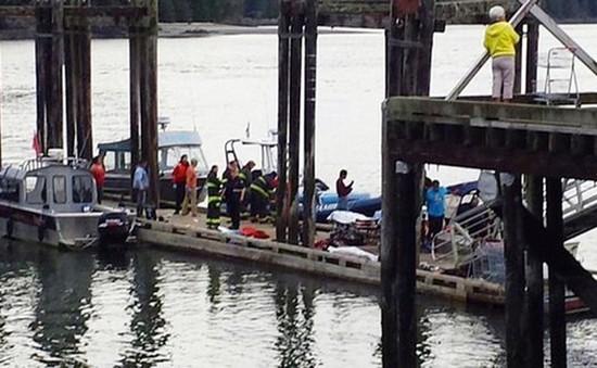 Chìm tàu tại Canada, ít nhất 4 người thiệt mạng