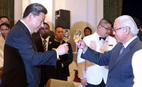 Chủ tịch Trung Quốc Tập Cận Bình thăm chính thức Singapore