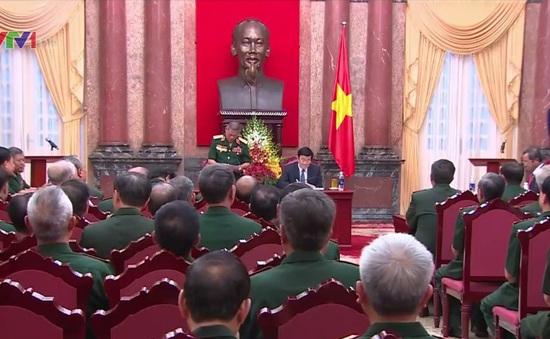 Chủ tịch nước gặp mặt Ban liên lạc mặt trận Tây Nguyên