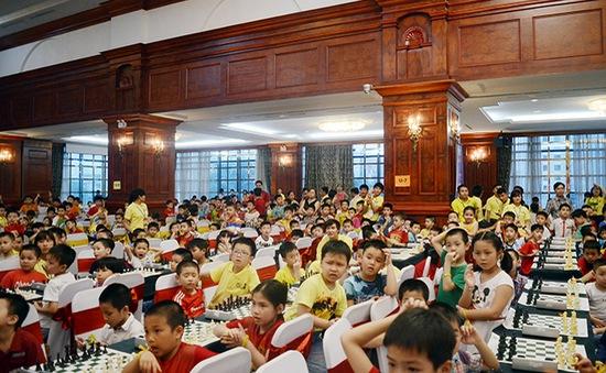 Hơn 1.000 kỳ thủ tham gia Giải cờ vua Siêu nhí toàn quốc lần thứ V