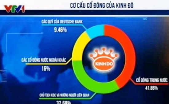 Công ty CP Tập đoàn Kinh Đô mạnh tay chi cổ tức