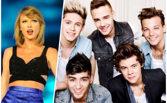 AMA 2015: Taylor Swift, One Direction chia nhau giải thưởng 'khủng'