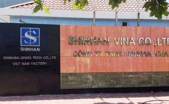 Phạt công ty xả thải chất Xianua vượt ngưỡng 1.900 lần hơn 200 triệu đồng