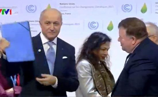 Hội nghị COP21 hoàn tất đàm phán kỹ thuật