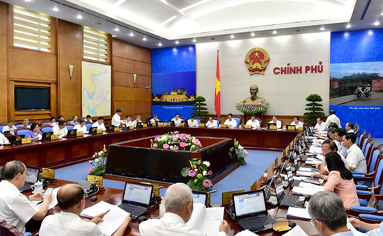Chính phủ họp phiên thường kỳ tháng 8: Kế hoạch 2016 có thể cao hơn kế hoạch 2015