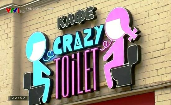 Café toilet ở thủ đô Moscow, Nga