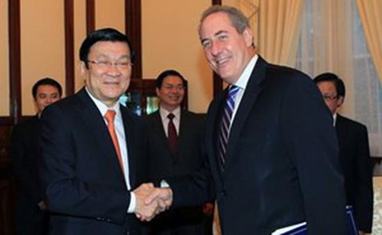 Chủ tịch nước gặp đại diện thương mại Hoa Kỳ
