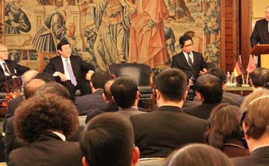 Chủ tịch nước dự Diễn đàn Doanh nghiệp Việt Nam - Đức