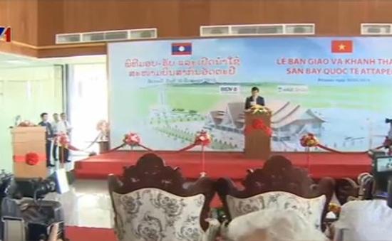 Chủ tịch nước dự Lễ khánh thành sân bay quốc tế Attapeu của Lào