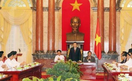 Chủ tịch nước gặp mặt đại diện Hội Thánh Cao Đài