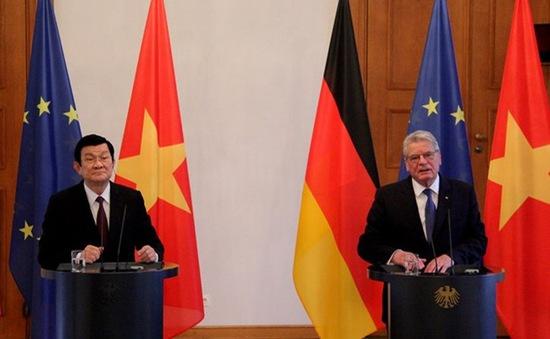 Chủ tịch nước Trương Tấn Sang kết thúc tốt đẹp chuyến thăm Cộng hòa Liên bang Đức