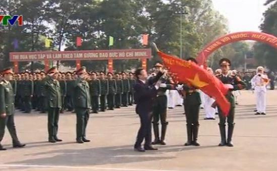 Chủ tịch nước dự lễ kỷ niệm 70 năm trường Sỹ quan Lục quân 1