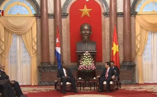 Chủ tịch nước tiếp Phó Chủ tịch Cuba