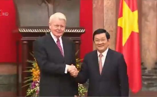Tổng thống Iceland thăm cấp Nhà nước Việt Nam