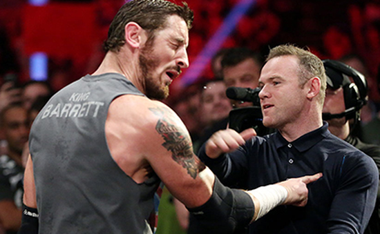 Rooney hạ knock-out nhà vô địch WWE bằng một cú tát