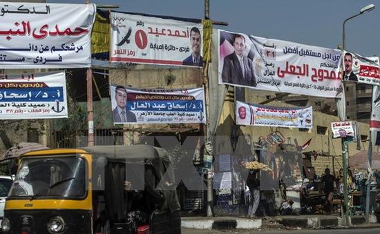Người dân Ai Cập bắt đầu đi bỏ phiếu bầu cử Quốc hội