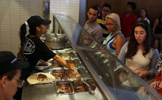 Mỹ: 120 sinh viên bị nhiễm virus đường ruột từ nhà hàng Chipotle