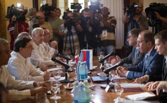 Ngoại trưởng Nga thăm Cuba