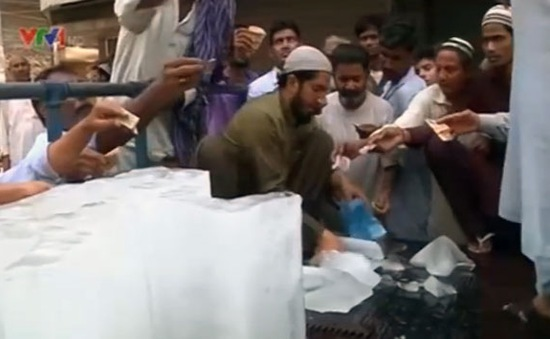 Nắng nóng kỷ lục hoành hành tại Pakistan