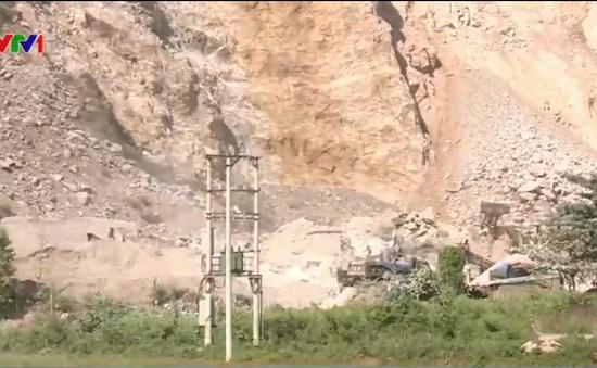 Hiểm họa chết người từ mỏ đá Lèn Cò, Nghệ An