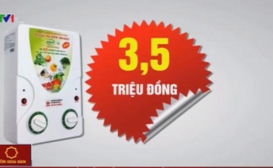 """Công ty Liên kết Việt """"thổi giá"""" bán máy Ozone lên gấp nhiều lần"""