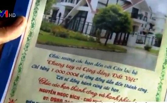 Kêu gọi tiền từ thiện như... kinh doanh đa cấp ở Bắc Giang