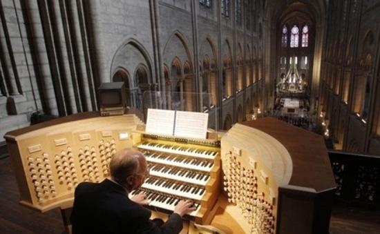 Phục dựng thành công đại phong cầm lớn nhất châu Âu