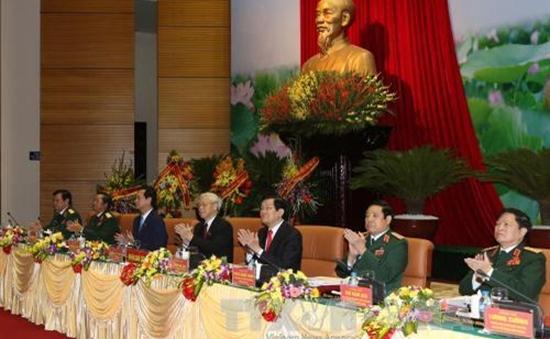 Khai mạc Đại hội Đảng bộ quân đội lần thứ X
