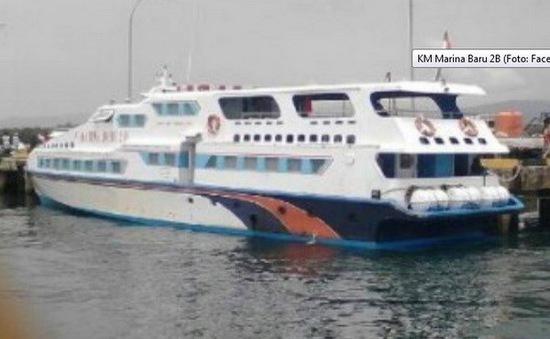 Số người thiệt mạng do chìm tàu tại Indonesia tăng lên 63 người