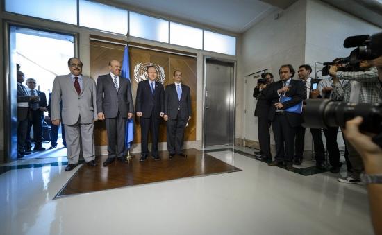 Đàm phán hòa bình về Yemen tại Geneva