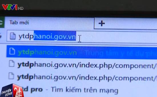Hà Nội: Vẫn chưa vào được phần mềm đăng ký vaccine dịch vụ