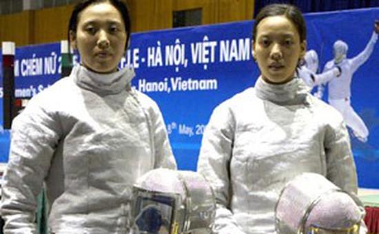 Niềm đam mê của cặp kiếm thủ song sinh nổi tiếng Hà Nội