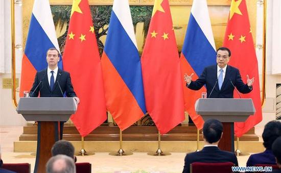 Nga - Trung Quốc ký kết hơn 30 thỏa thuận hợp tác