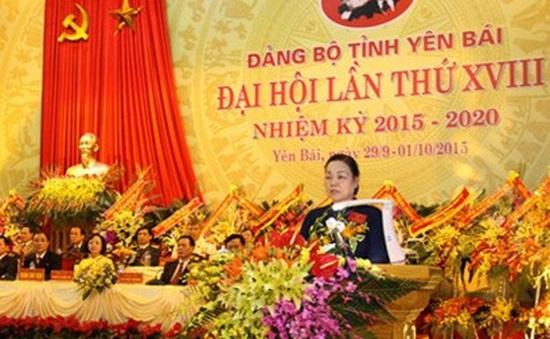 Đại hội Đảng bộ tỉnh Yên Bái