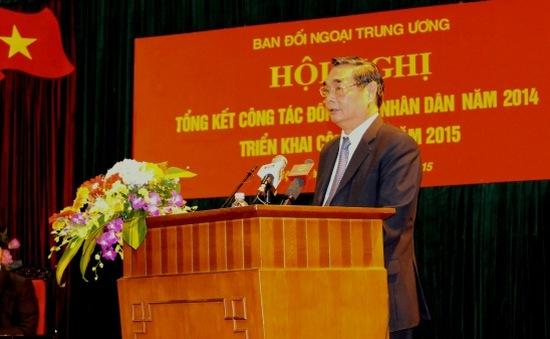 Nâng cao hiệu quả trong hoạt động đối ngoại nhân dân