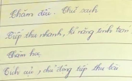 """""""Bí mật"""" không ngờ đến sau điểm 10 môn Tiếng Việt tiểu học?"""