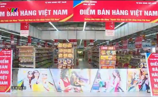 Đã có 28 điểm bán hàng Việt ổn định trên toàn quốc