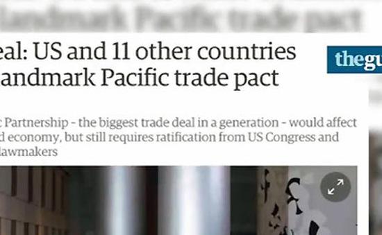 TPP định nghĩa lại hoàn toàn thương mại toàn cầu