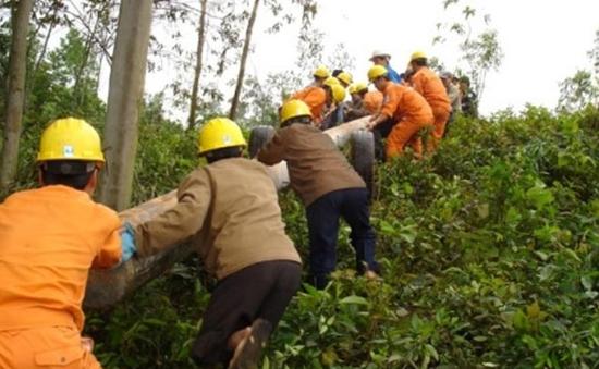 Quảng Trị đưa lưới điện đến với đồng bào vùng cao