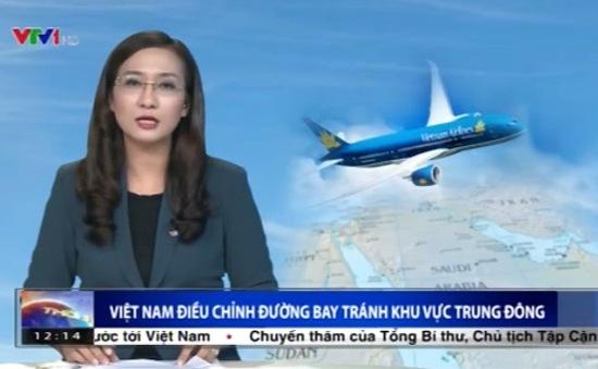 Việt Nam điều chỉnh đường bay tránh khu vực Trung Đông
