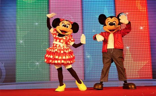 Chuột Mickey và Minnie lần đầu tiên đến Việt Nam