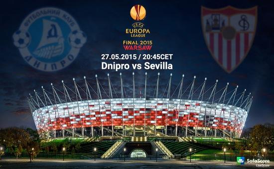 CK Europa League, Sevilla – Dnipro: Thời khắc lịch sử (1h45, 28/5, VTV3/K+1)