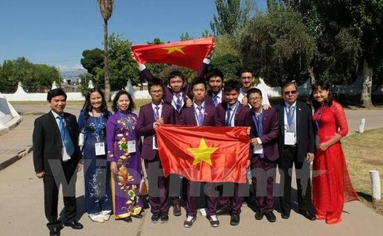Việt Nam đoạt giải cao trong Kỳ thi Olympic khoa học trẻ quốc tế