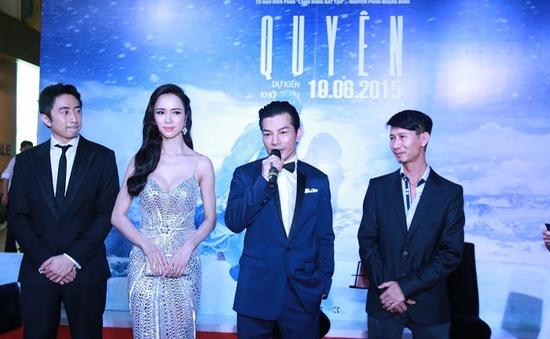 """Phim """"Quyên"""" chính thức ra mắt khán giả Hà Nội"""
