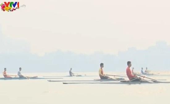 Đội tuyển đua thuyền tập trung sớm cho giải Vô địch châu Á