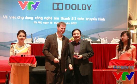 Hợp tác với Dolby, VTV phát sóng âm thanh vòm trên kênh truyền hình số mặt đất