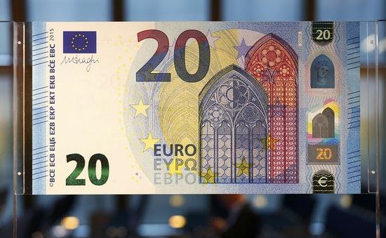ECB cho ra mắt đồng 20 Euro mới