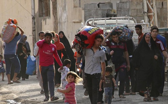 Iraq: Hàng trăm gia đình tháo chạy khỏi Ramadi