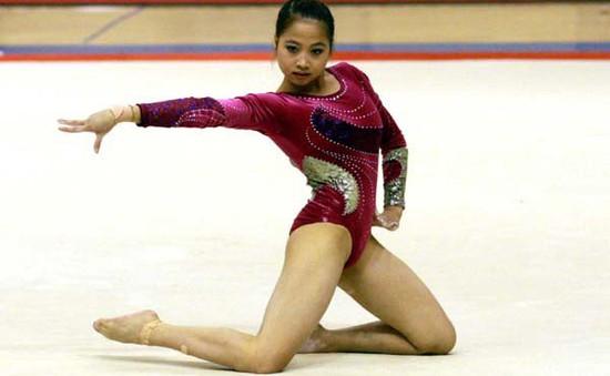 Cô gái vàng Ngân Thương bất ngờ thử sức ở giải Aerobic châu Á